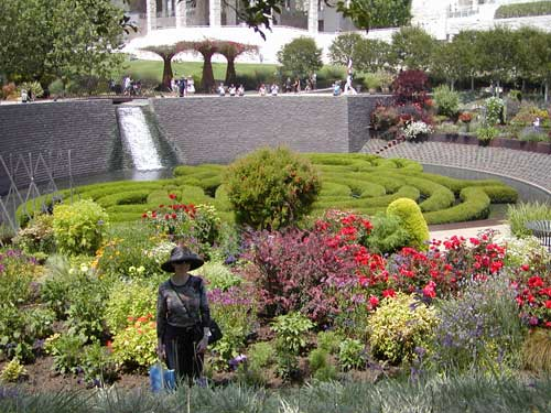 Image: Getty Museum Gardens