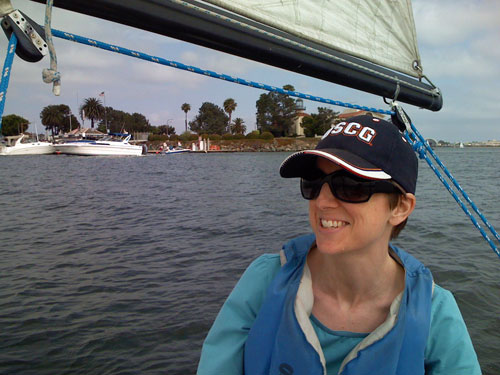 Image: Michelle Sailing in San Diego